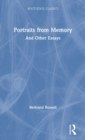 Portraits from Memory : And Other Essays - Book