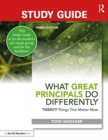 Study Guide: What Great Principals Do Differently : Twenty Things That Matter Most - Book