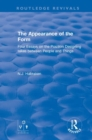 The Appearance of the Form : Four Essays on the Position Designing takes between People and Things - Book