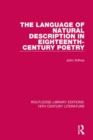 The Language of Natural Description in Eighteenth-Century Poetry - Book
