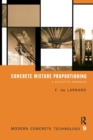 Concrete Mixture Proportioning : A Scientific Approach - Book