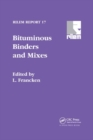 Bituminous Binders and Mixes - Book