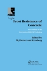 Frost Resistance of Concrete - Book