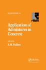 Application of Admixtures in Concrete - Book