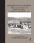 The Excavations of Beth Shemesh, November-December 1912 - Book