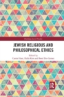 Jewish Religious and Philosophical Ethics - Book