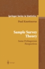 Sample Survey Theory : Some Pythagorean Perspectives - eBook