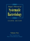 Bergey's Manual (R) of Systematic Bacteriology : Volume Two: The Proteobacteria, Part A Introductory Essays - Book
