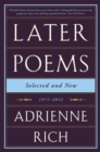 Later Poems: Selected and New : 1971-2012 - Book