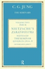 Nietzsche's Zarathustra : Notes of the Seminar given in 1934-1939 by C.G. Jung - Book