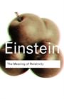 The Meaning of Relativity - Book