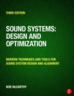 Sound Systems: Design and Optimization : Modern Techniques and Tools for Sound System Design and Alignment - Book