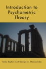 Introduction to Psychometric Theory - Book