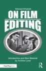 On Film Editing : An Introduction to the Art of Film Construction - eBook