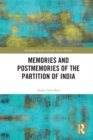 Memories and Postmemories of the Partition of India - eBook