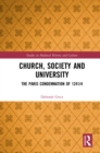 Church, Society and University : The Paris Condemnation of 1241/4 - eBook