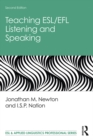 Teaching ESL/EFL Listening and Speaking - eBook