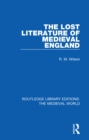 The Lost Literature of Medieval England - eBook