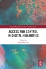 Access and Control in Digital Humanities - eBook