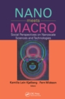 Nano Meets Macro : Social Perspectives on Nanoscale Sciences and Technologies - eBook