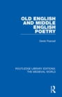 Old English and Middle English Poetry - eBook