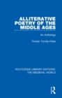 Alliterative Poetry of the Later Middle Ages : An Anthology - eBook