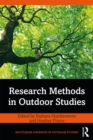 Research Methods in Outdoor Studies - eBook