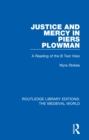 Justice and Mercy in Piers Plowman : A Reading of the B Text Visio - eBook