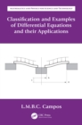Classification and Examples of Differential Equations and their Applications - eBook