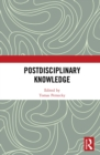 Postdisciplinary Knowledge - eBook