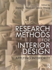 Research Methods for Interior Design : Applying Interiority - eBook