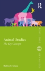 Animal Studies : The Key Concepts - eBook