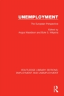 Unemployment : The European Perspective - eBook