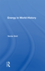Energy In World History - eBook