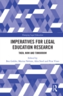 Imperatives for Legal Education Research : Then, Now and Tomorrow - eBook