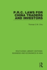 P.R.C. Laws for China Traders and Investors : Second Edition, Revised - eBook