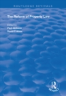 The Reform of Property Law - eBook