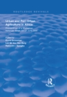 Urban and Peri-urban Agriculture in Africa : Proceedings of a Workshop, Netanya, Israel, 23-27 June 1996 - eBook