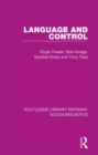 Language and Control - eBook