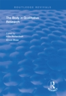 The Body in Qualitative Research - eBook
