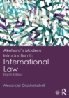 Akehurst's Modern Introduction to International Law - eBook