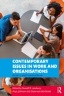 Contemporary Issues in Work and Organisations : Actors and Institutions - eBook