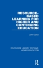 Resource-Based Learning for Higher and Continuing Education - eBook
