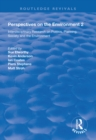 Perspectives on the Environment (Volume 2) : Interdisciplinary Research Network on Environment and Society - eBook