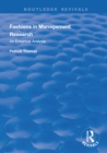 Fashions in Management Research : An Empirical Analysis - eBook