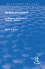 Reason and Nature : An Essay on the Meaning of Scientific Method - eBook