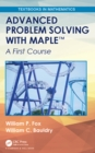 Advanced Problem Solving with Maple : A First Course - eBook
