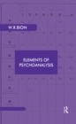 Elements of Psychoanalysis - eBook