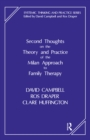 Second Thoughts on the Theory and Practice of the Milan Approach to Family Therapy - eBook