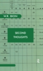 Second Thoughts : Selected Papers on Psychoanalysis - eBook